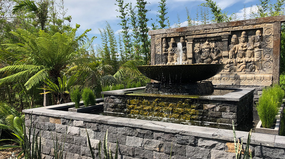 Water Feature by Bamboo South Coast