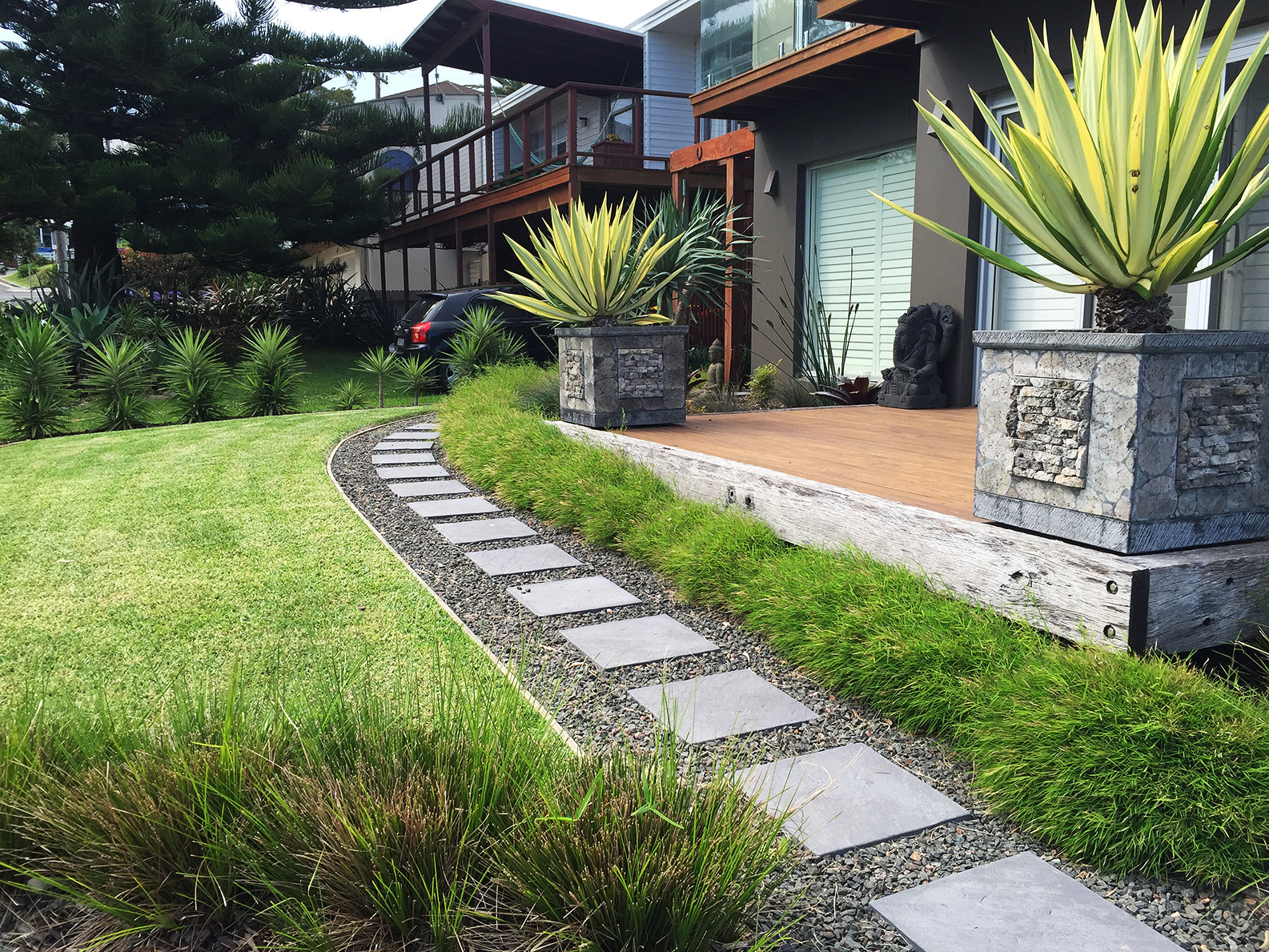 Landscape Design and Construction Gerroa by Bamboo South Coast