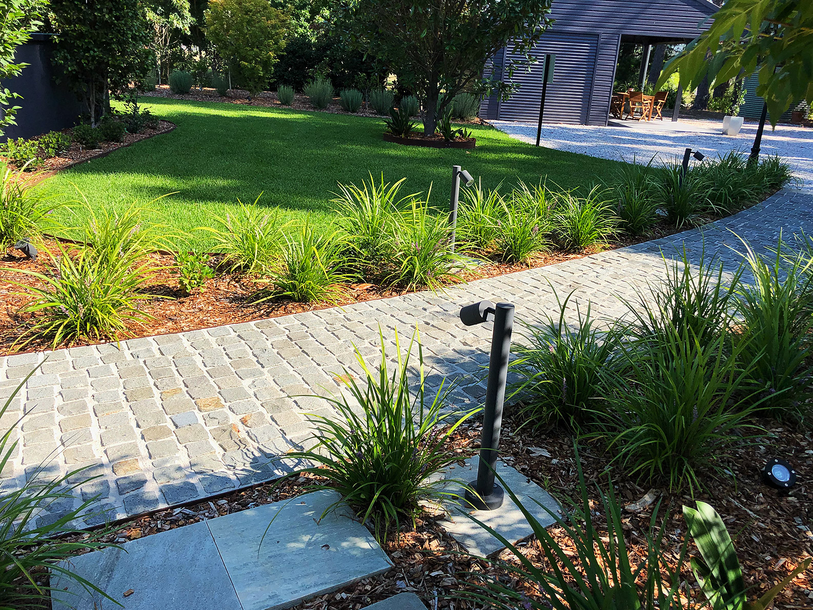 Landscape Design and Construction Services Kangaroo Valley by Bamboo South Coast