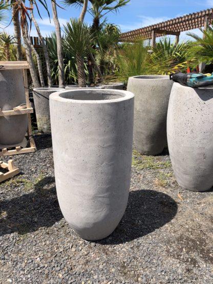 Smooth Concrete pot 75cmx30cm MEDIUM
