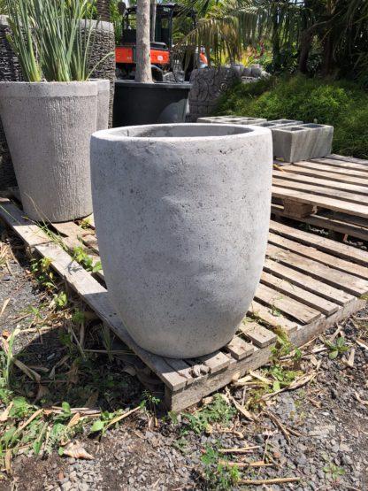 Smooth Concrete pot 40cm x 30cm SMALL