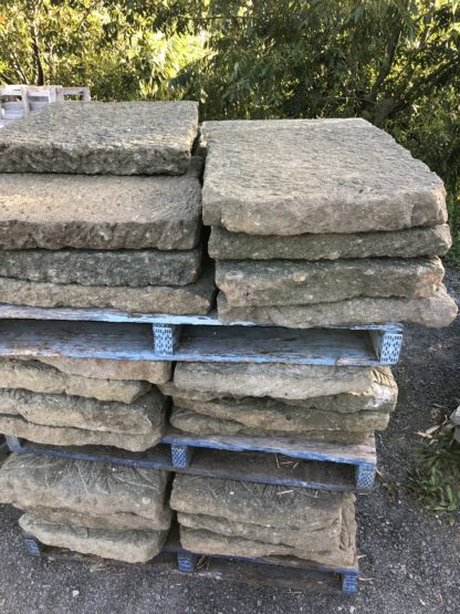 60cm Greenstone steppers pitched hand made