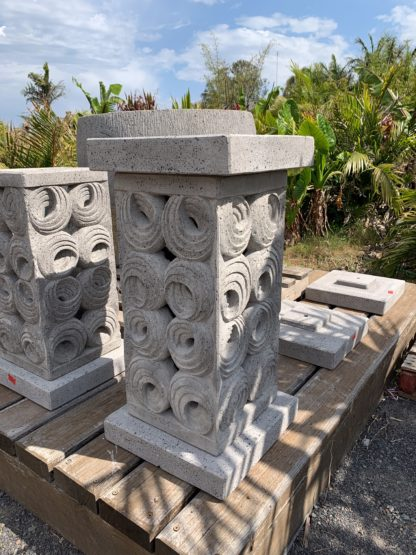 POT STAND SHELL PLINTH CONCRETE