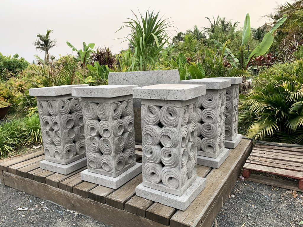 POT STAND SHELL PLINTH