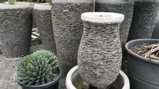 Slate urn water feature 90cm
