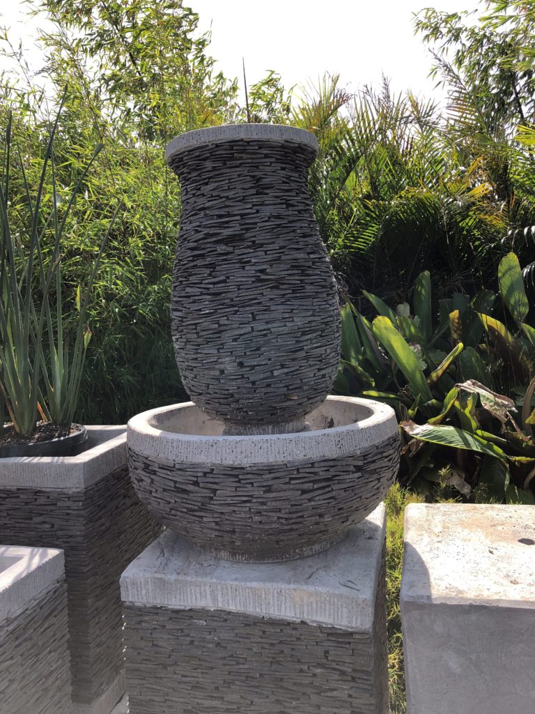 Slate water feature 90cm