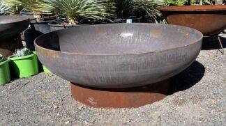 Steel fire pit 120cm x 10mm mild steel